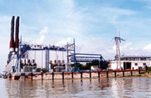 Barge Mounted Power Plant